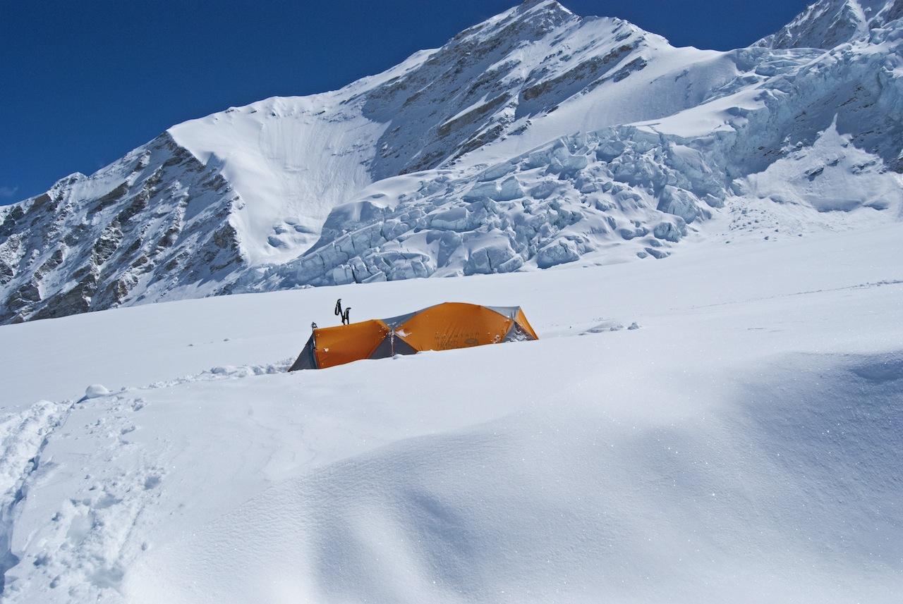 6.380 m tenda a Campo1. La mattina del secondo e ultimo tentativo alla cima